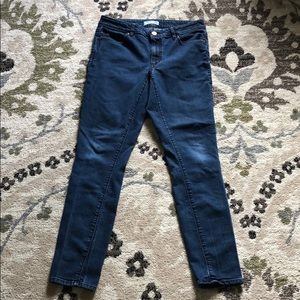 Loft curvy skinny jeans size 8